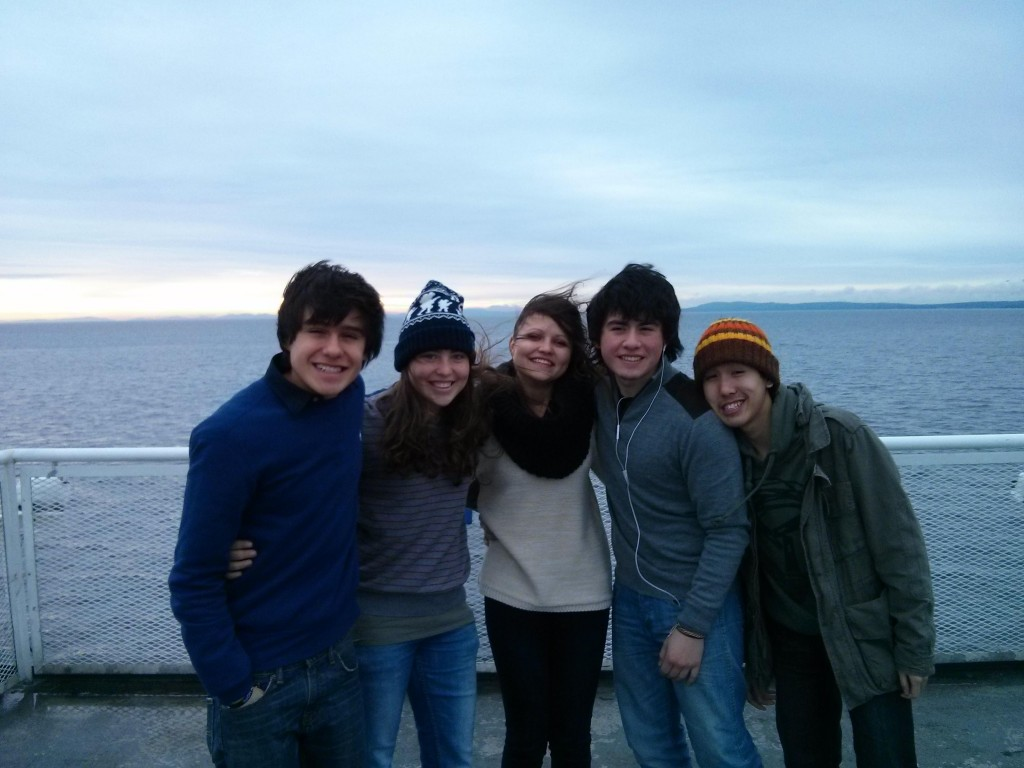 Fährenüberfahrt nach Vancouver beim International-Ausflug