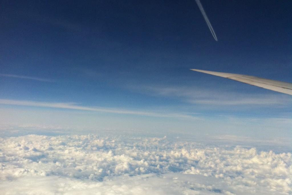 Auf dem Flug