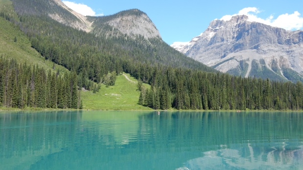 Auf dem Weg nach Kelowna –Stopp am Emerald Lake