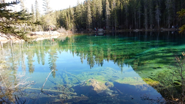 Grassi Lake in Canmore