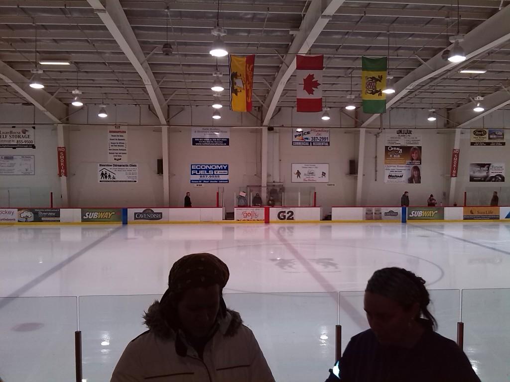 Mein erstes Eishockeyspiel