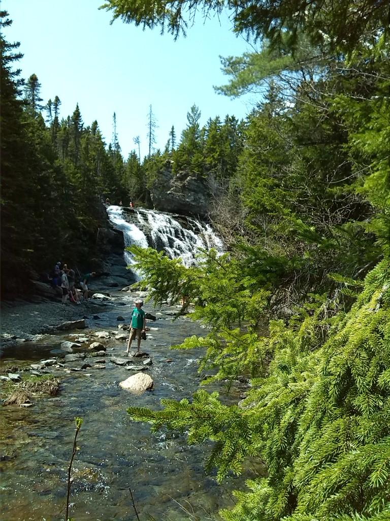 """Ein weiterer Wasserfall im """"Fundy National Park"""" ( zweiter Besuch)"""