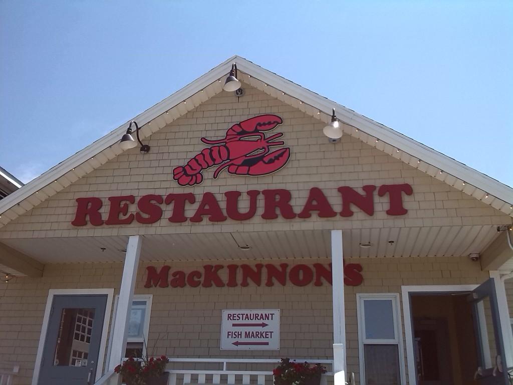Ein Hummerrestaurant auf P.E.I