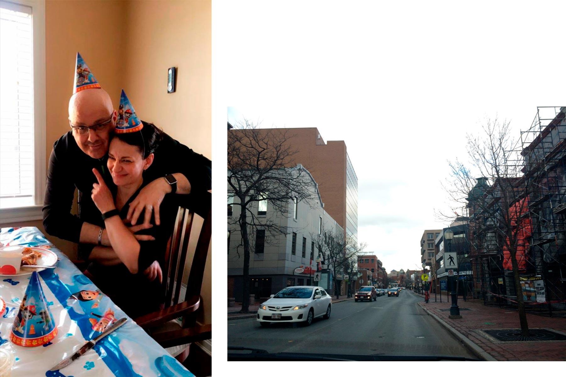 Meine Gasteltern und Downtown Moncton